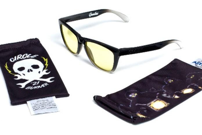 "Gentei x Oakley ""Knight Rider"" Frogskin Sunglasses"