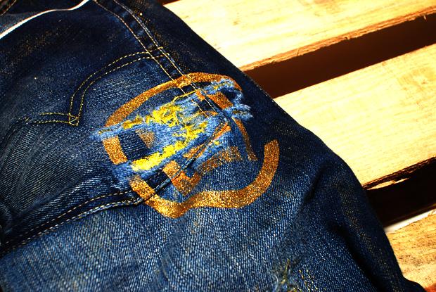 CLOT x Kazuki x Levi's 505 kzKLOT GOLD Series