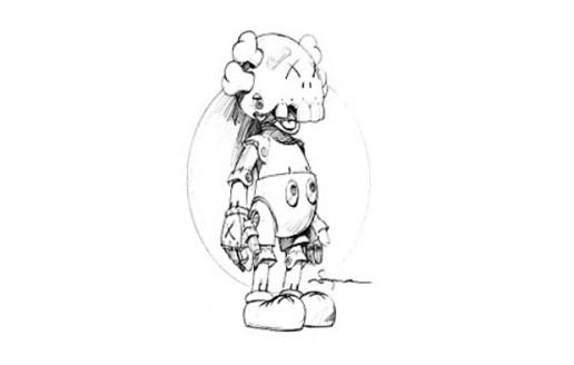Hajime Sorayama x KAWS