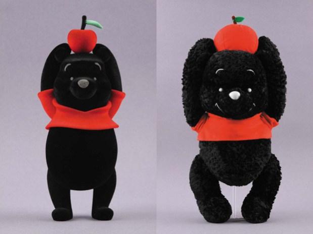 "Hiroshi Fujiwara x fragment design x Medicom Toy ""Black"" Winnie the Pooh"