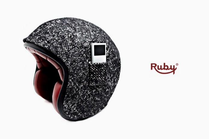 Karl Lagerfeld x Atelier Ruby Tweed iPod Helmet