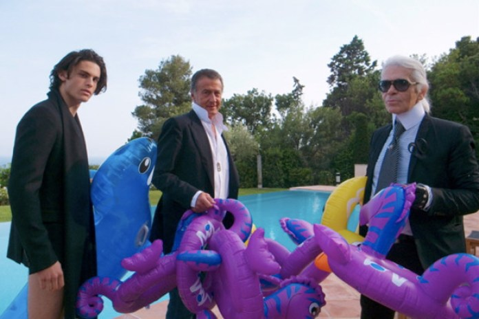 Karl Lagerfeld for Purple Magazine