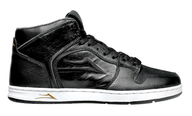 Lakai Telford Black Leather