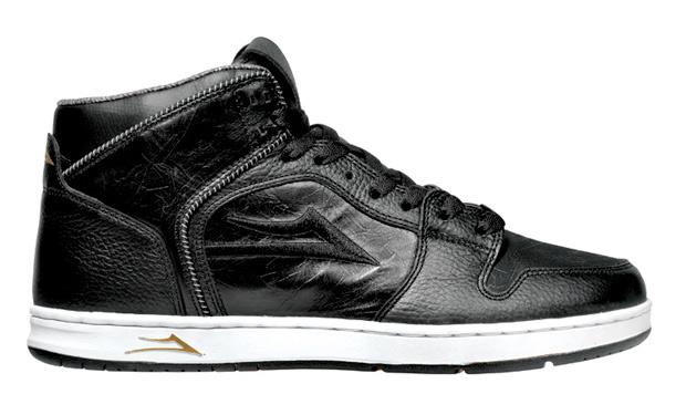 Lakai Telford Black Leather