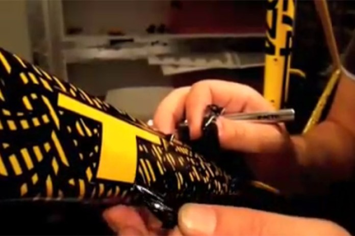 Making of Lance Armstrong's Shepard Fairey Bike for the 2009 Giro d'Italia