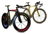 Shepard Fairey & Kenny Scharf for Lance Armstrong's Giro D'Italia Bikes