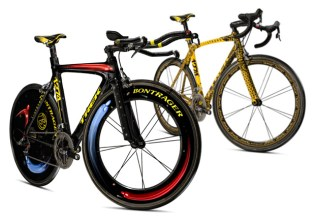 Shepard Fairey & Kenny Scharf for Lance Armstrong's Giro D'Italia Bikes