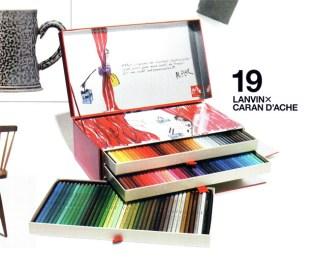 Lanvin x CARAN d'ACHE Pencil Crayons