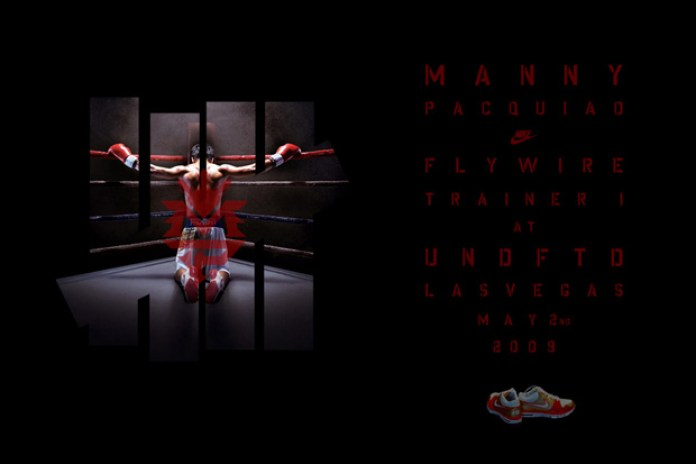 Manny Pacquiao x Nike Flywire Trainer 1 | Windrunner
