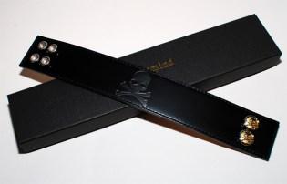 mastermind Japan Leather Bracelet