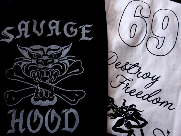 """NEIGHBORHOOD """"Savage Hood"""" Zippo & Tee Set"""