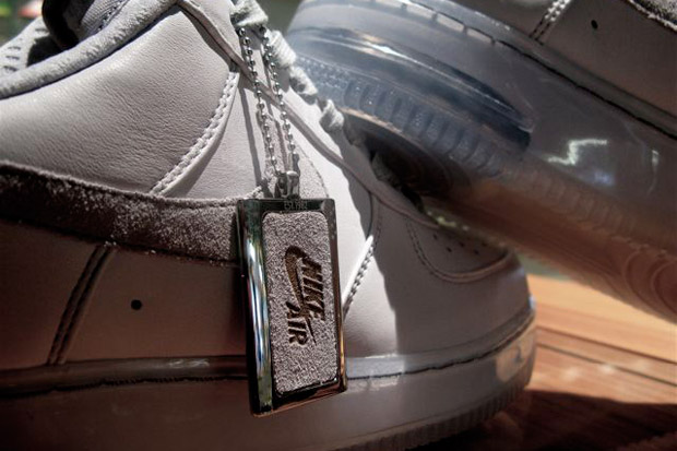 "Nike Air Force 1 MX iD ""All Grey"" Colorway"