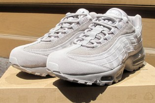 "Nike Air Max 95 ""All Grey"" Colorway"