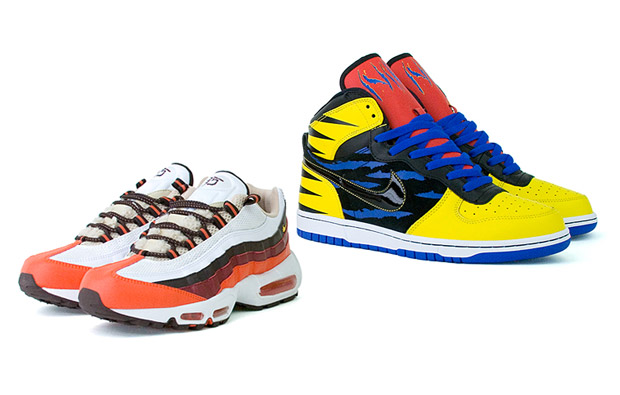 "Nike Air Max 95 & Big Nike ""Wolverine vs. Sabertooth"" Pack"