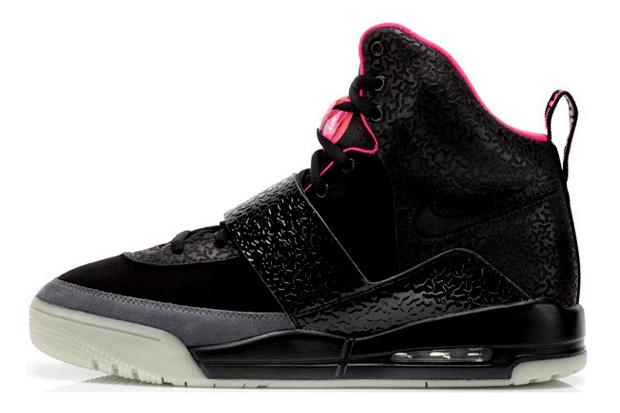 Nike Air Yeezy Black/Pink Release Reminder