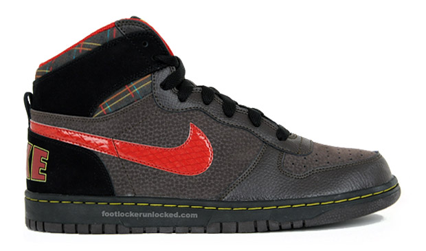Nike Big Nike Brown Plaid Colorway