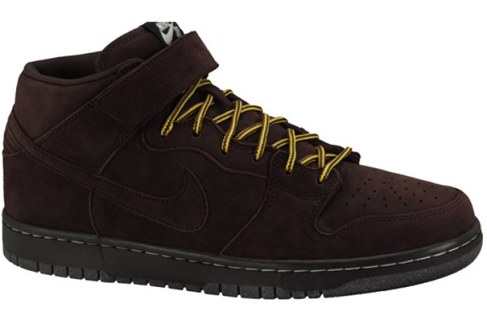 "Nike SB Dunk Mid Premium ""Dark Chocolate"""