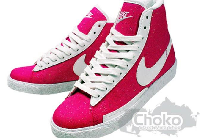 """Nike Sportswear Blazer Mid Canvas """"Splatter"""""""