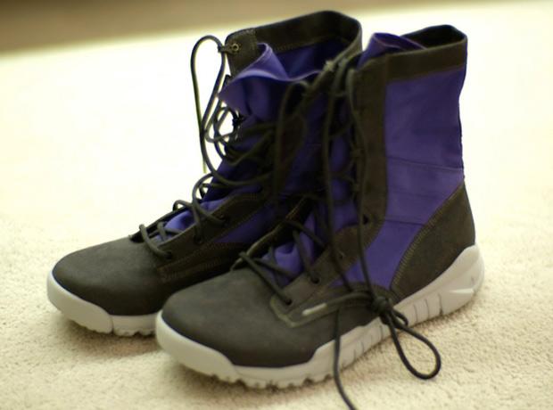 Nike Sportswear SFB Boot Gray/Purple Samples
