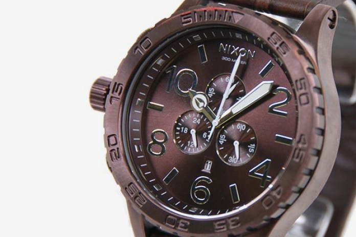 Nixon The 51-30 Chrono Leather All Brown