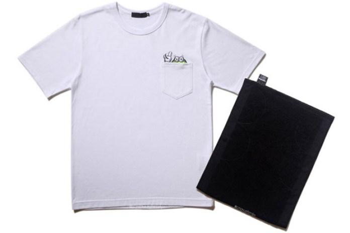 OriginalFake Pocket T-Shirts & Chompers Towel