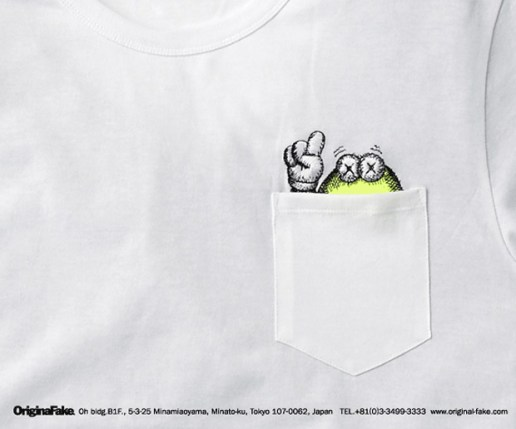 OriginalFake Pocket T-Shirt Preview