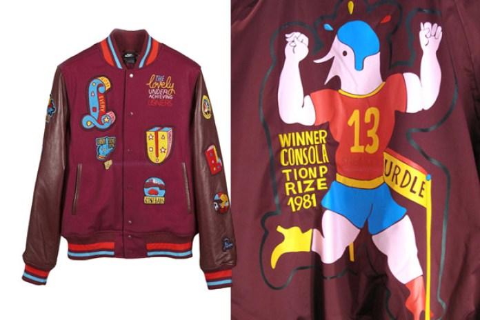 Parra x Nike Varsity Jacket | Coach Jacket