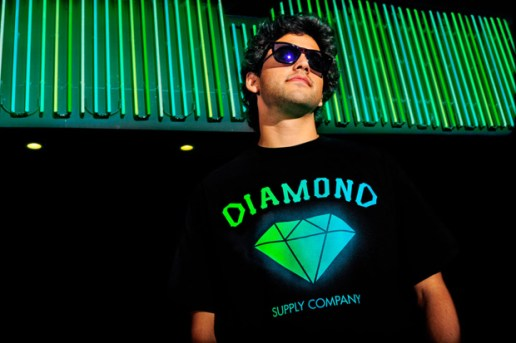 Primitive x Diamond Supply Co. Limited Edition Logo Tee