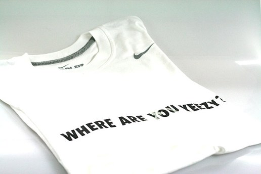 "Qubic x Nike Sportswear New Zealand ""Where Are You Yeezy"" T-shirt"