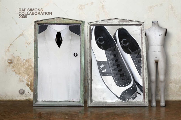 Raf Simons x Fred Perry 100th Anniversary Collection