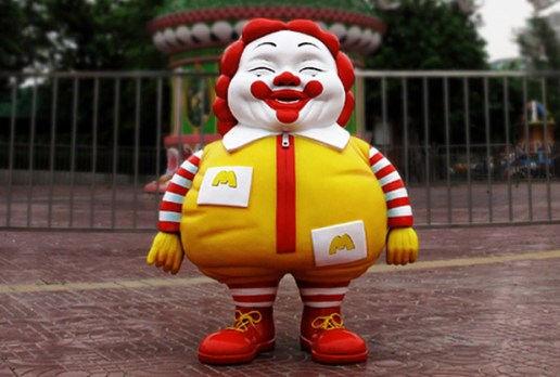 Ron English x MINDstyle Deluxe McSupersized Me Figure