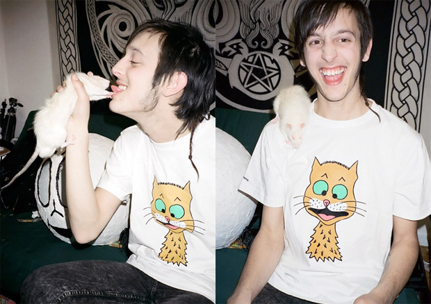 "Ryan McGinley x aNYthing ""Cats"" T-shirt"