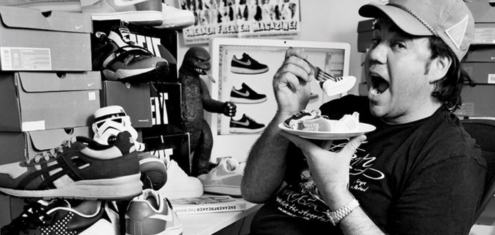 "Simon ""Woody"" Wood: Sneaker Freaker"