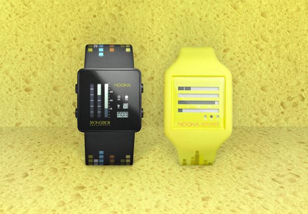 SpongeBob SquarePants x Nooka 10th Anniversary Watch Collection