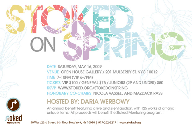 Stoked on Spring Benefit Auction