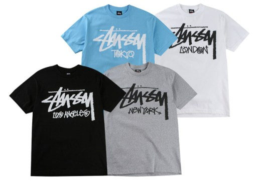 Stussy Stock City T-shirt