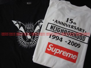 Supreme, Bounty Hunter, Stussy, The Hideout x NEIGHBHORHOOD 15th Anniversary Tees