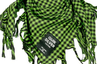 Takashi Kumagai for Quiksilver Checkered Foulards