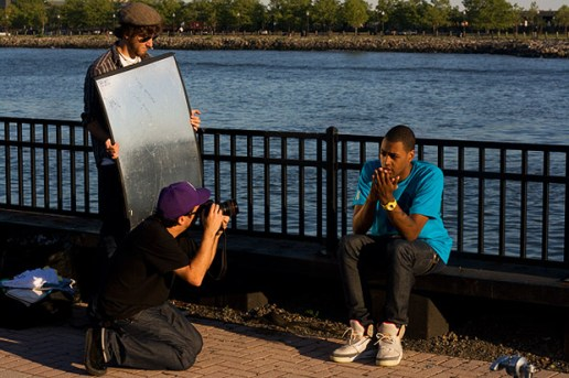 The Award Tour 2009 Summer Lookbook - Behind the Scenes
