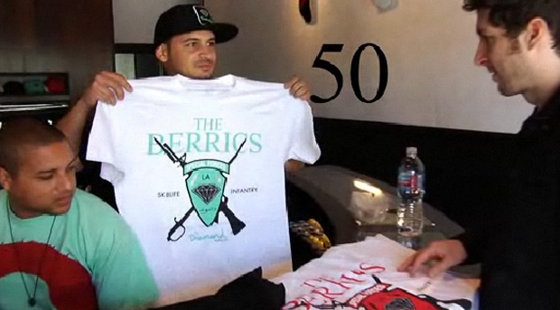 The Berrics x Diamond Supply Co. T-shirt