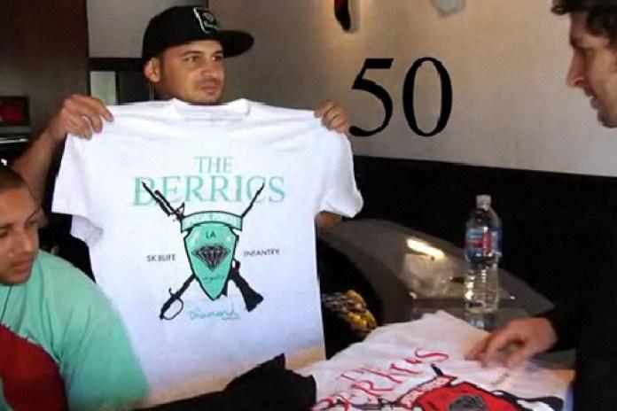 The Berrics x Diamond Supply Co. T-shirt