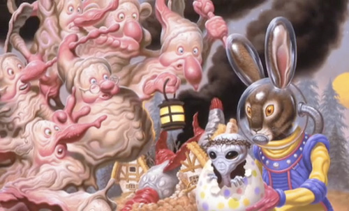 Todd Schorr | American Surreal Exhibition