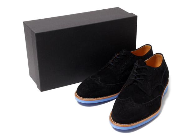 ts(s) Blue Sole Wing Tip Shoes