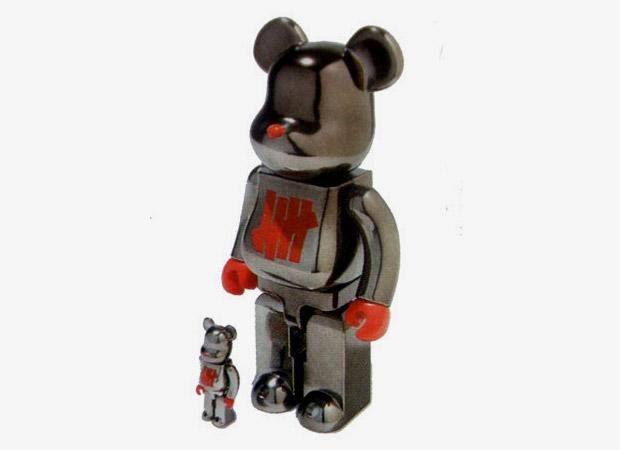 "Undefeated x Medicom Toy ""Full Metal Jacket"" Bearbrick 100%   400%"