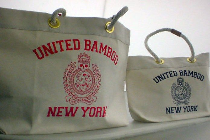 United Bamboo New York Tote Bags