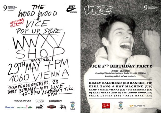 Vice Magazine x Wood Wood present The WWXV Shop
