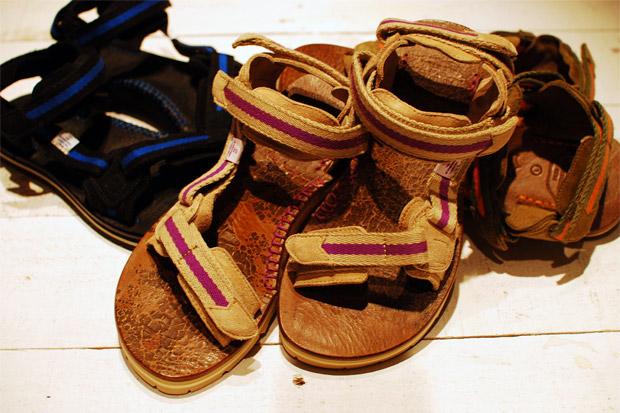 Visvim Christo Sherpa Folk Sandals