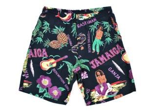 Wacko Maria Aloha Print Shorts