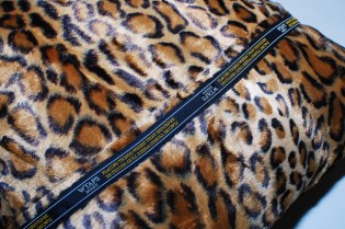 WTAPS LAMF Leopard Cushion