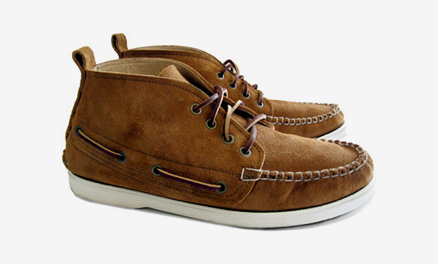 "3sixteen x Quoddy Deck Chukka ""Peanut Grizzly"""